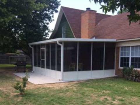 Install Screened In Porch Memphis Tn Maclin Security